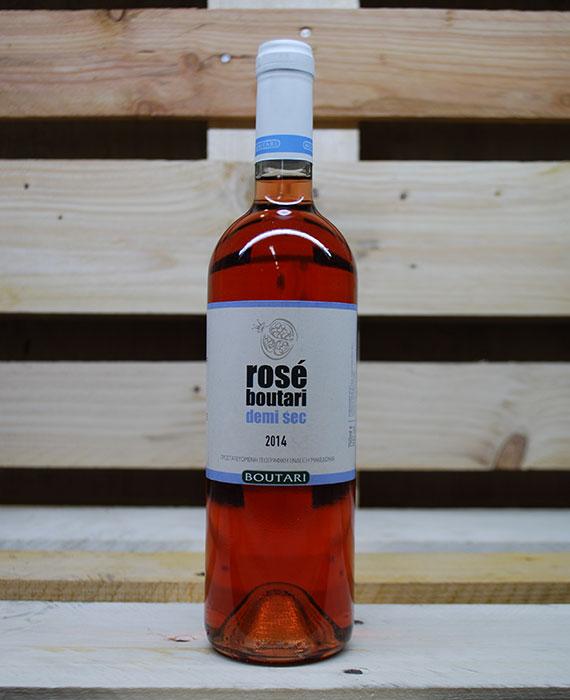 Rose Boutari semi dry
