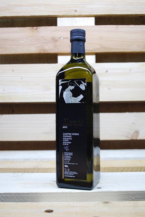 Sapfo Extra Virgin Olive Oil 1lt