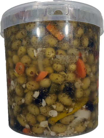Barbecue Olives