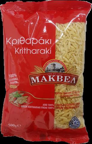 Pates Kritharaki Macvel 500gr