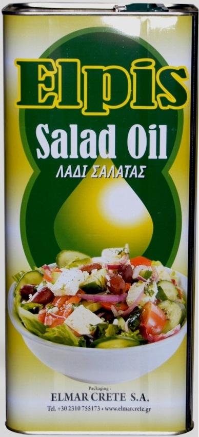 Elpis Salad Oil 5lt