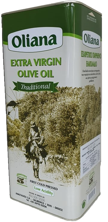 Oliana Extra Virgin Olive Oil 5lt