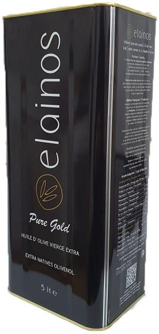 Elainos Extra Virgin Olive Oil 5lt